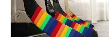 FIRST: Pro hockey team uses Pride Tape