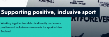 THIRD time that all major sports in a country (NZ) commit to end homophobia
